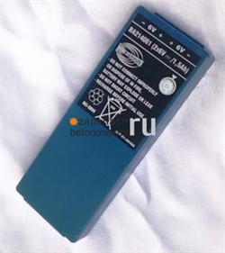 Батарея пульта 2х6V,500 mAh Putzmeister - фото 4479