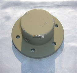 Фланец глухой D40 вала бункера KCP - фото 5549