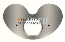 Плита шиберная 135 мм задняя Schwing - фото 7104