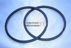 Кольцо поршня гидроцилиндра 2100х140/80 Putzmeister - фото 7534