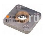 Пружинное кольцо шиберного гидроцилиндра 80/45-185 Schwing - фото 7856