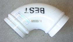 Угол 125/R180/90 бронированный Putzmeister - фото 8009