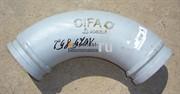 Угол двухслойный DN125/R275 90* Cifa