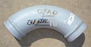 Угол бронированный бетоновода Cifa