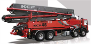 Автобетононасос KCP46ZX170